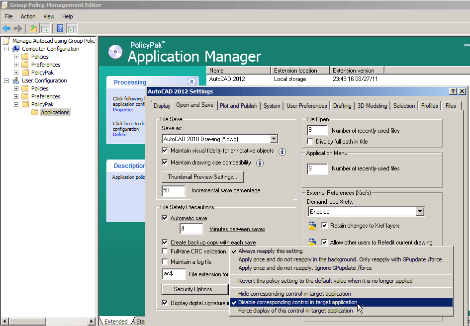 manage-autodesk-autocad-using-group-policy-policypak-0