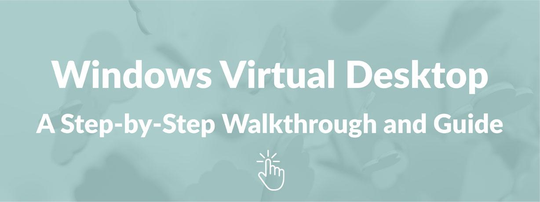 Windows Virtual Desktop Image
