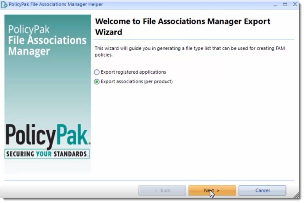 File Association Manager Helper for PDF