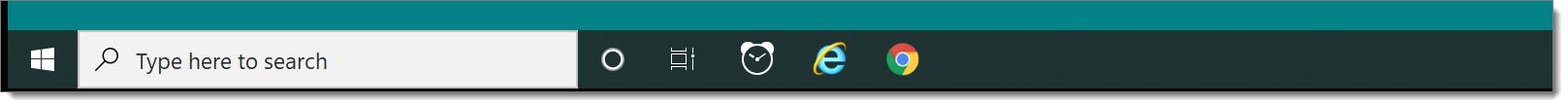 Windows taskbar replace mode