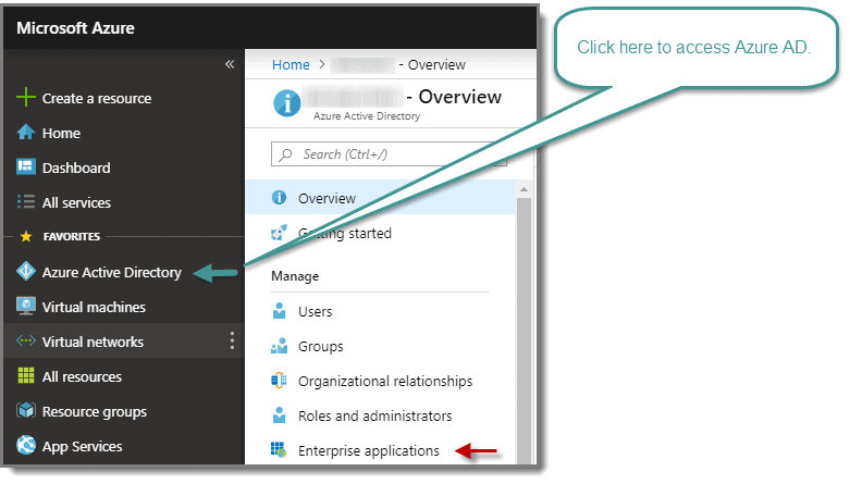 Access to Azure AD