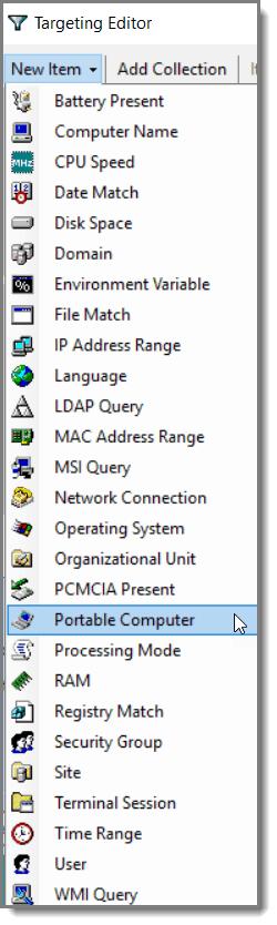 Windows 10: Block Websites Using Item Level Targeting