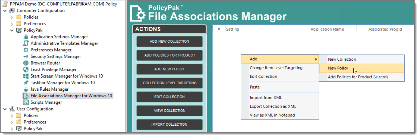 File Associations Manager for PDF