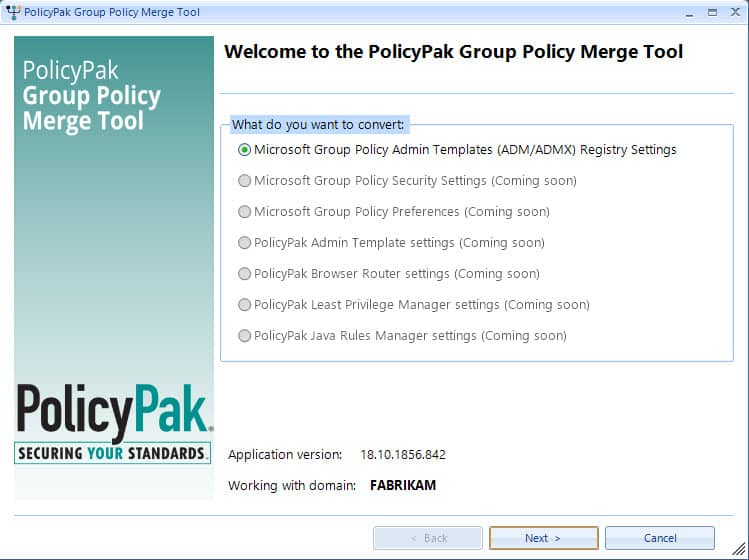 Merge Group Policy Settings