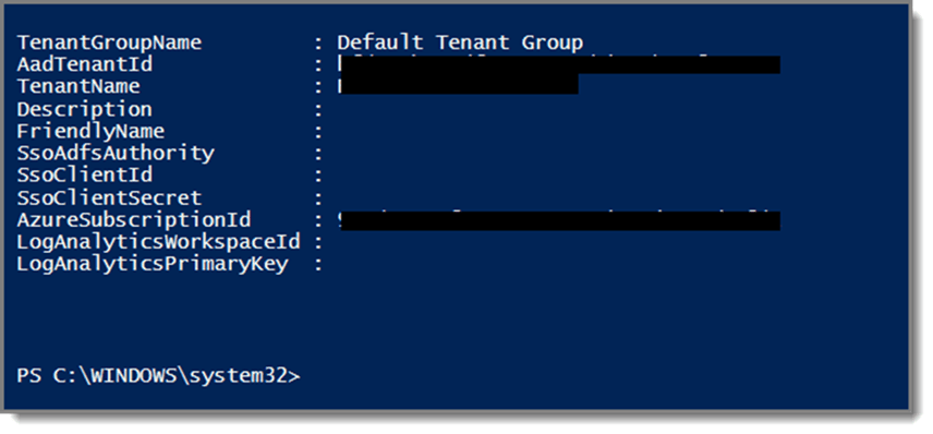 PowerShell Command Result