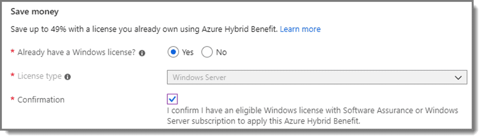Save money on Azure subscription cost