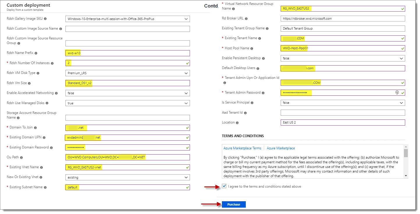 Custom Deplpoyment Options