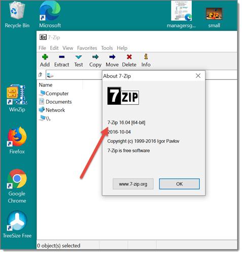 7 zip software deployment