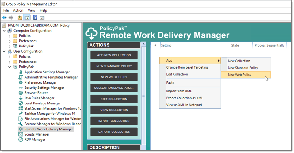 Remote Work Delivery Manager Screenshot