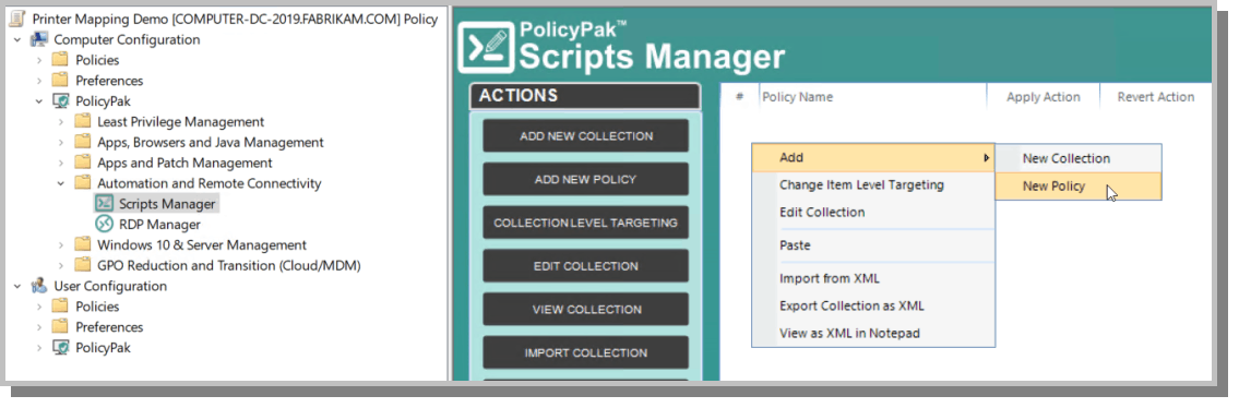 Map Printer with Scripts Manager