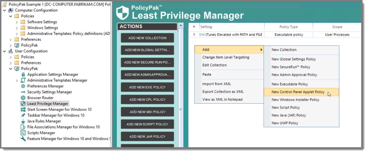 PPLPM for ACSC screenshot 2