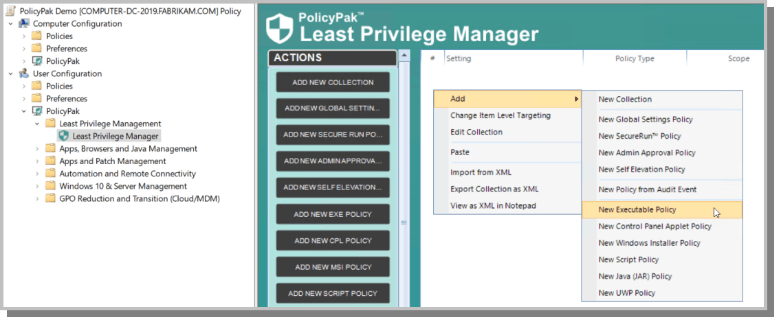 Least Privilege Manager for NIST 800-171