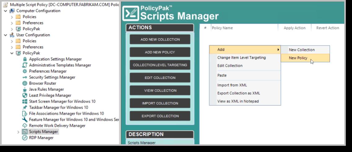 policypak script manager microsoft intune