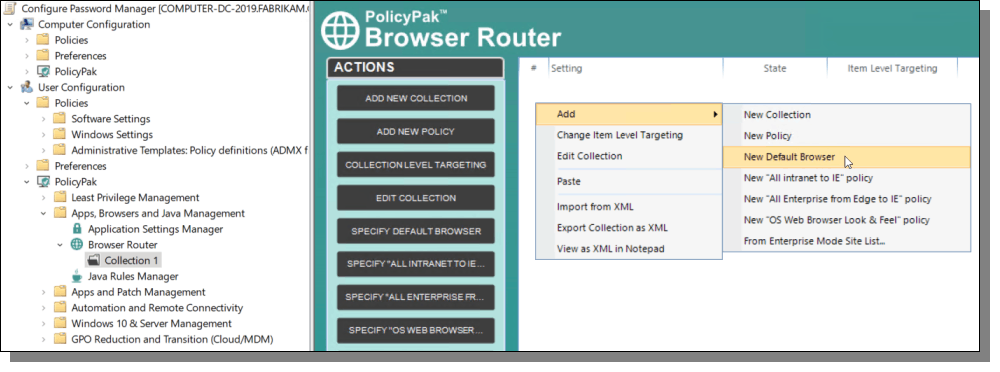 PolicyPak Browser Router